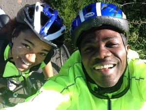 Temi & Eni -  Cycle route E46 Hereford